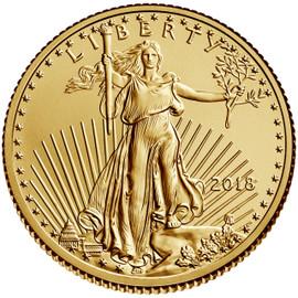 Ten Dollar Gold Eagle 2018