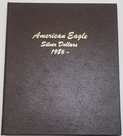 Dansco album for silver eagles
