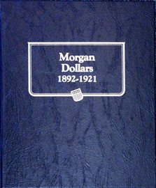 Whitman Album for Morgan Silver Dollars 1892-1921
