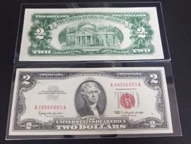 1963 $2 Bill Red Seal