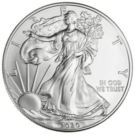 2020 American Silver Eagle