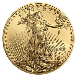 2020 $5 gold eagle