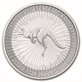 2020 Australian Silver Kangaroo