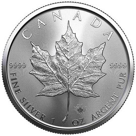 2021 Silver Maple Leaf