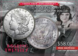 "1921 ""Last Year"" Morgan Silver Dollar"