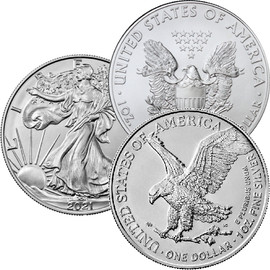 2021 Silver Eagle Set with Collector Box