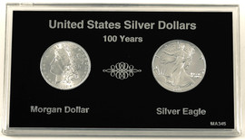 Beautiful 100 Year Silver Dollar Set