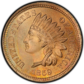 1859 Indian Cent  (Very Good)