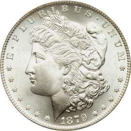 1879 Morgan Silver Dollar