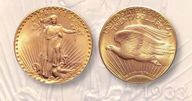 The 1933 $20 Saint-Gaudens