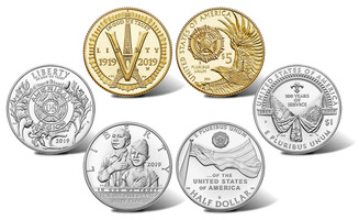 TOP 5 U.S. Coins of 2019