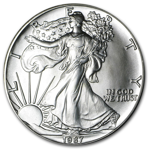 1987 American Eagle Silver Dollar