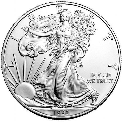 1993 American Eagle Silver Dollar
