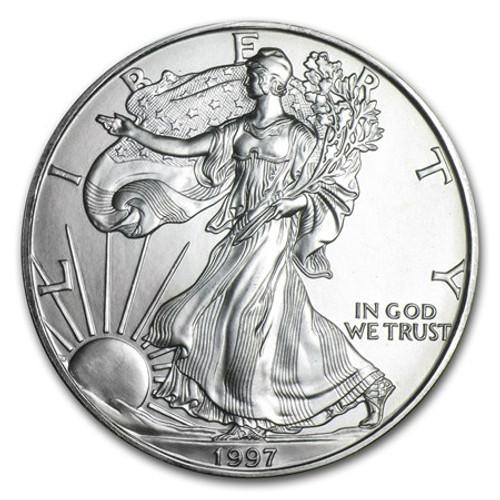 1997 American Eagle Silver Dollar