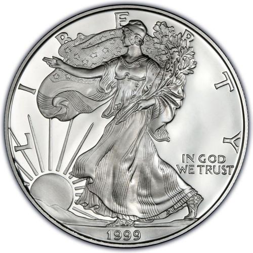 1999 American Eagle Silver Dollar