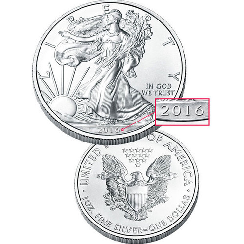2016 Collectible Silver American Eagle