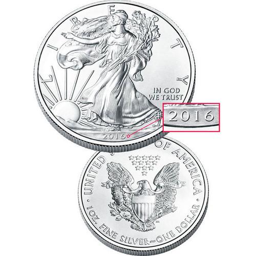 2016 Collectible Silver American Eagle