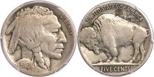 Buffalo Nickel (Fine condition)   1 coin