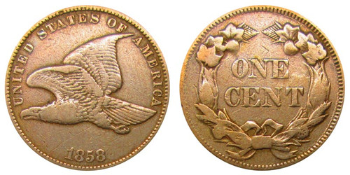 Flying Eagle Cent front and back