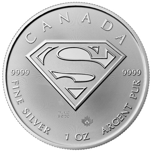 2016 Superman Silver Coin