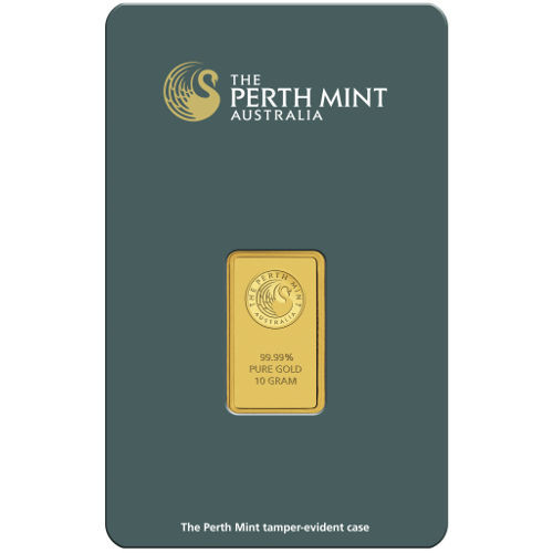 10 Gram Gold Bar (bar our choice) in pure gold bars