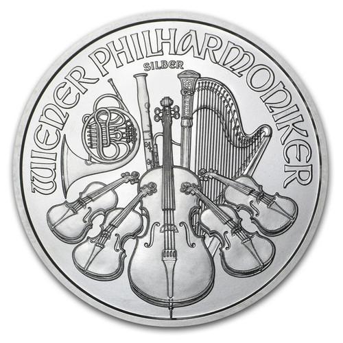 2016 Silver Philharmonic obverse