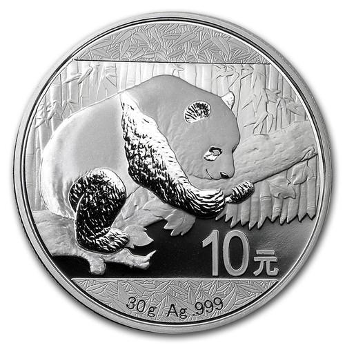 2016 Silver Panda reverse
