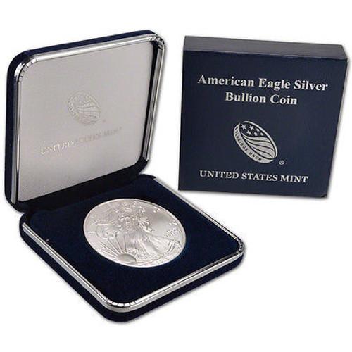 2017 American Silver Eagle in genuine U.S. Mint box