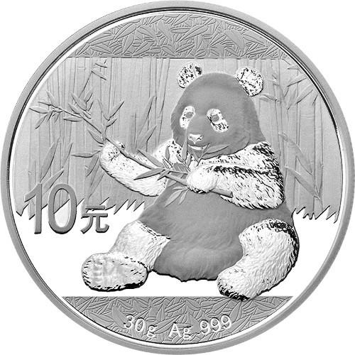2017 Silver Panda reverse