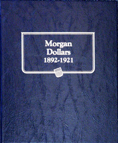 Whitman Album for Morgan Silver Dollars 1892-1921