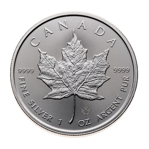 2020 Silver Maple Leaf