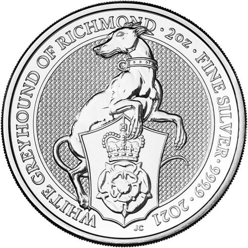 2021 Queens Beast White Greyhound