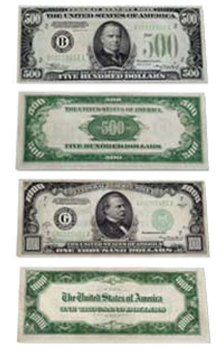 $500 and $1000 Notes