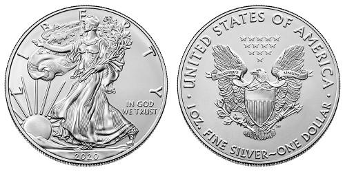 2020 Silver Eagle Roll