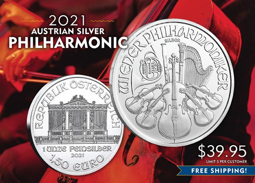 2021 Austrian Philharmonic Silver