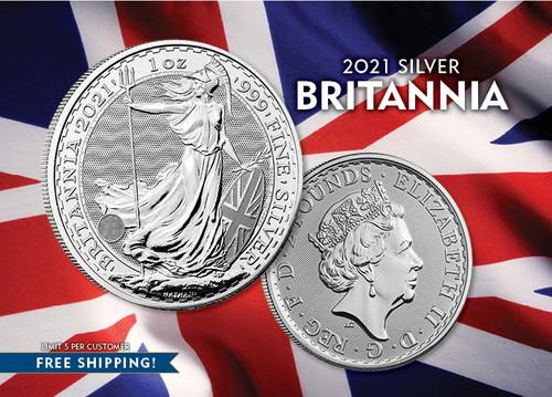 2021 Silver Britannia