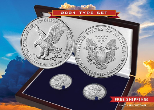 2021 American Silver Eagle Type Set