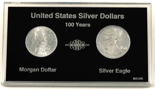 Beautiful 100 Year Silver Dollar Set