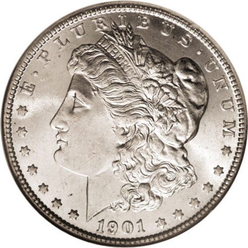 1901-O Morgan Silver Dollar; New Orleans Mint