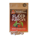 Sleep Support Tart Cherry Skins & L-Theanine Capsules