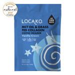 MCT Oil & Grass-Fed Collagen Coffee Creamer Vanilla Cream