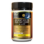 GO Hemp Seed Oil Plus Tart Cherry & 5HTP