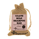 Goats Milk Shampoo Bar - ACV with Rosemary & Orange Certified Organic