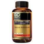 Go Vitamin E 500IU + Co-Q10