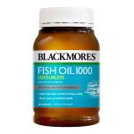 Odourless Fish Oil 1000mg