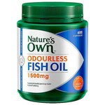 Odourless Fish Oil 1500mg