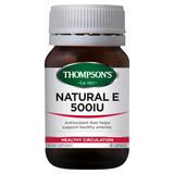 Natural Vitamin E 500iu
