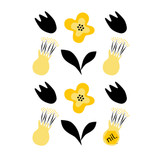 Compostable Dishcloth - Kowhai Flower