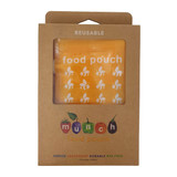 Reusable Food Pouches - Yellow