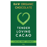 Raw Organic Chocolate - Mint Cacao Crunch